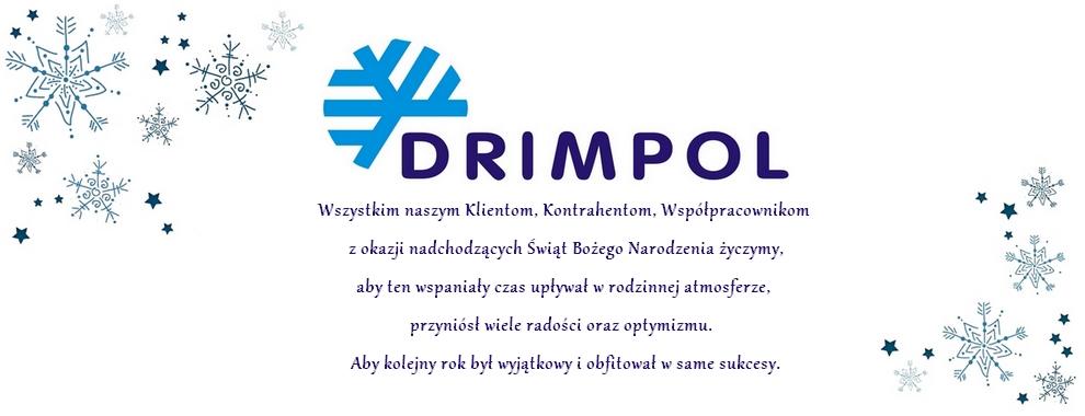 Życzenia świąteczno - noworoczne od Drimpol